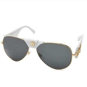 Authentic Versace Sunglasses with gold trim!